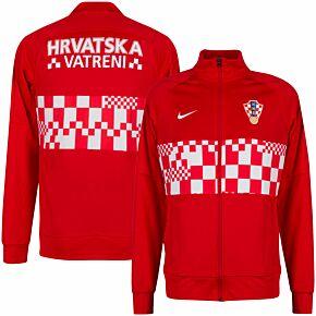 20-21 Croatia I96 Anthem Track Jacket + Vatreni Print