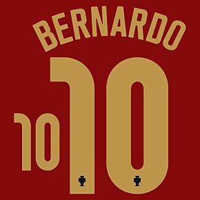 Bernardo 10 (Official Printing) - 20-21 Portugal Home