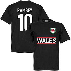 Wales Ramsey 10 Team Tee - Black