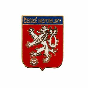 Czech Rep. Pin Badge (lion crest)