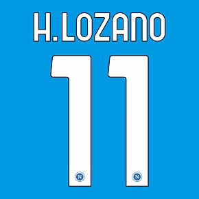 H.Lozano 11 (Official Printing) - 20-21 Napoli Home