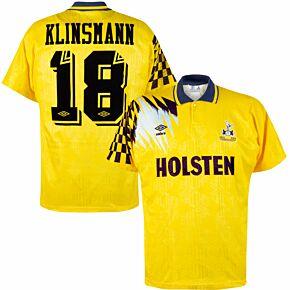 Umbro Tottenham Hotspur 1991-1994 Away Klinsman 18 Shirt - USED Condition (Great) - Size L *READY TO PUBLISH*