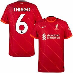 21-22 Liverpool Dri-Fit ADV Match Home Shirt + Thiago 6 (Premier League)