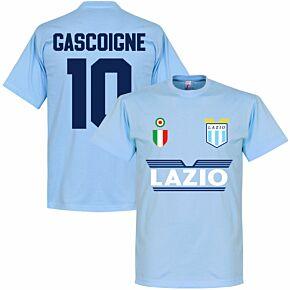 Lazio Gascoigne 10 Team T-shirt - Sky Blue