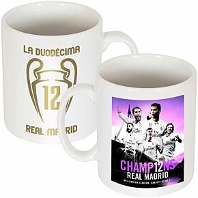2017 Madrid La Duodecima Champions Mug