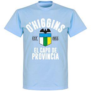 O'Higgins Established T-Shirt- Sky