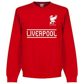Liverpool Team Sweatshirt  - Red