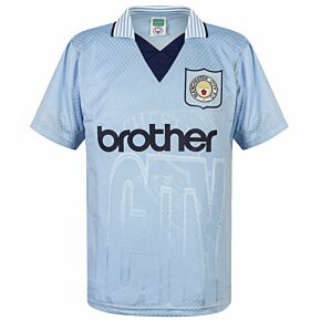1996 Man City Home Retro Shirt