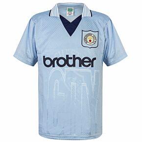 1996 Man City Home Retro Shirt