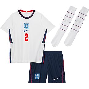 20-21 England Home Littleboys Kit + Alexander-Arnold 2 (Fan Style Printing)