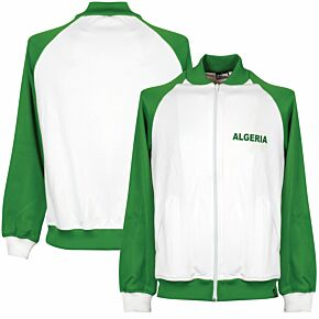 1980's Algeria Retro Track Top - White/Green