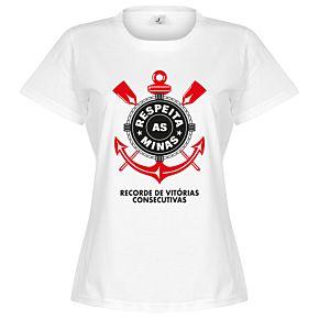 Corinthians Minas Womens Tee - White