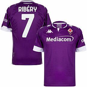 20-21 Fiorentina Home Shirt + Ribéry 7 (Official Printing)