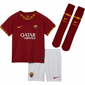 Nike AS Roma Home Little Boys Kit 2019-2020