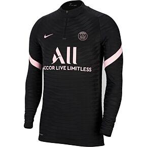 21-22 Nike PSG Dri-fit ADV Elite 1/4 Zip L/S Strike Drill Top