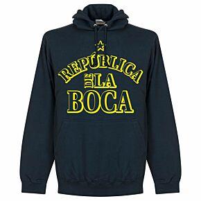 Republica De Le Boca Hoodie - Navy