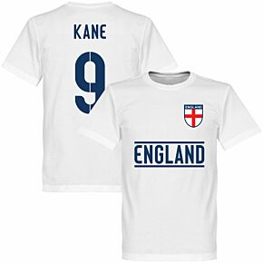 England Kane 9 Team Tee - White