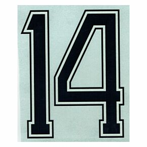 14 (Number Only) - 1970 Holland Home Retro Authentic Flock Number