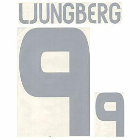Ljungberg 9 - 03-04 Sweden Home Official Name and Number