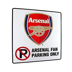 Arsenal 'No Parking' Sign