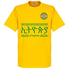 Ethiopia Team Tee - Yellow