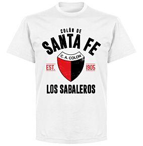 Colon de Santa Fe EstablishedT-Shirt - White