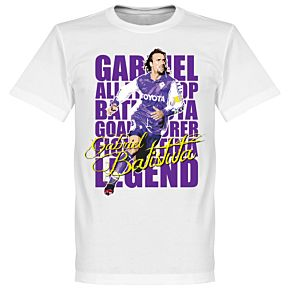 Batistuta Legend Tee - White