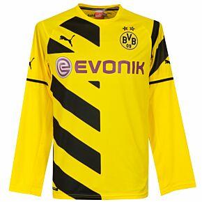Borussia Dortmund Home L/S Jersey 2014 / 2015