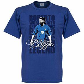 Baggio Legend Tee - Royal
