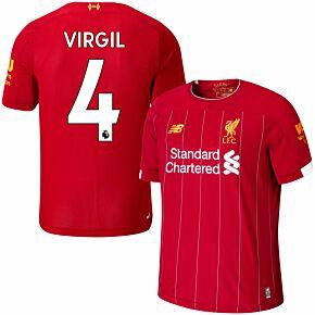 New Balance Liverpool Home Virgil 4 Jersey 2019-2020