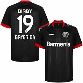 20-21 Bayer Leverkusen Home Shirt + Diaby 19 (Official Printing)