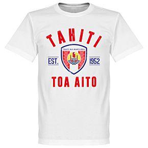 Tahiti Established Tee - White