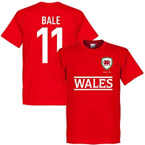 Wales Bale Team Tee - Red