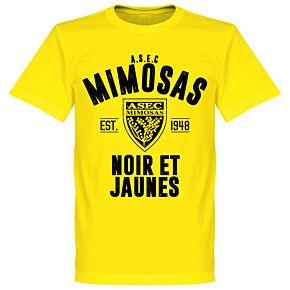 ASEC Mimosas Established T-shirt - Lemon Yellow