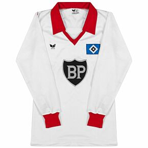Erima Hamburger SV 1980-1982 Home Jersey L/S - USED Condition (Excellent) - Size Small
