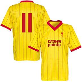 1982 Liverpool Away Retro Shirt + No. 11