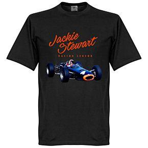 Jackie Stewart Monaco Tee - Black