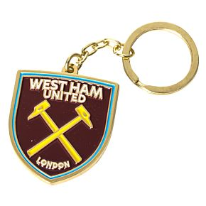 West Ham united Crest Keyring