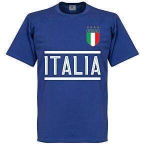Italy Team KIDS Tee - Royal