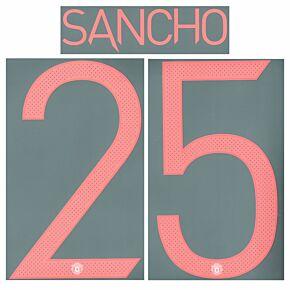 Sancho 25 (Cup Printing) - 21-22 Man Utd Away