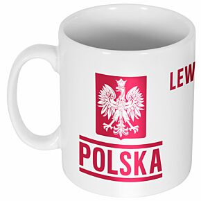 Poland Lewandowski 9 Team Mug