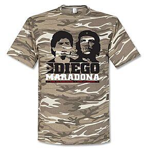 Maradona Camo Tee