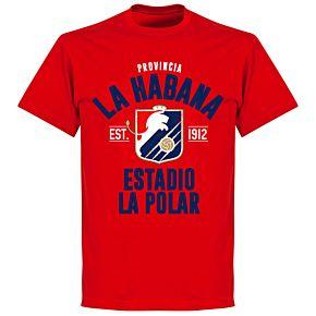 La Habana Established T-shirt - Red