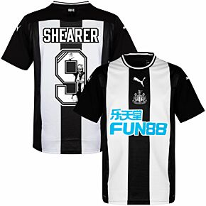 Puma Newcastle Home Shearer 9 Jersey 2019-2020 (Gallery Style Printing)