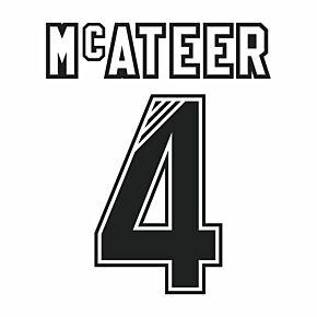 McAteer 4 (Retro Flock Printing) 95-96 Liverpool Away