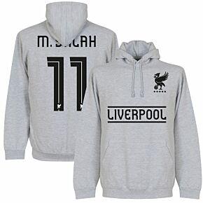 Liverpool Established Salah 11 Hoodie - Grey