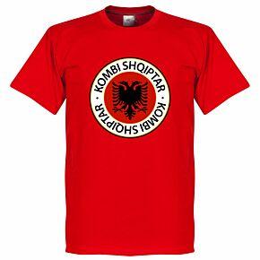 Albania Crest Tee - Red