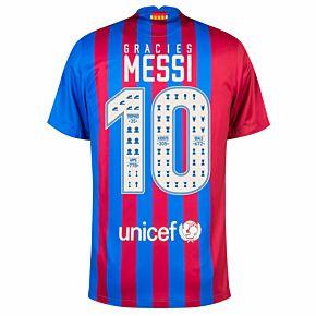 Gràcies Messi 10 (Celebration Printing)