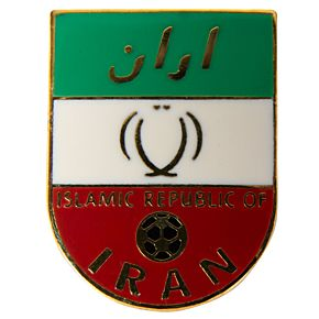 Iran Enamel Pin Badge
