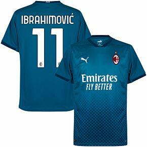 20-21 AC Milan 3rd Shirt + Ibrahimović 11